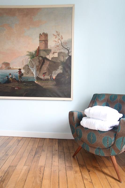 Chambre Léonard, Room Leonardo, La Maison Jules